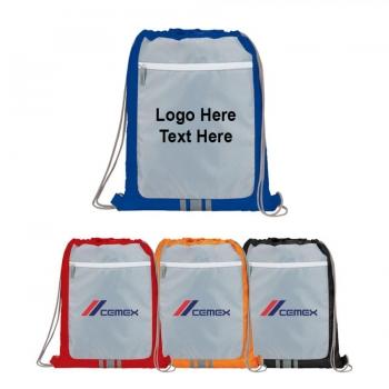 Promotional Logo Frame Drawstring Sportspack