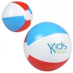 10 Inch Custom Printed Multi Colored Beach Balls