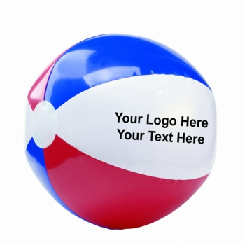 16 Inch Promotional Logo USA Beach Balls