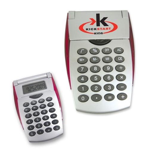 Custom Imprinted Flip Open Calculators