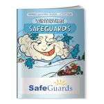Custom Printed Coloring Books - Wintertime Safeguards