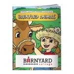 Customized Coloring Book - Barnyard Animals