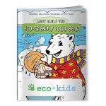 Logo Imprinted Coloring Books - Meet Emily the Eco-Friendly Polar Bear