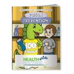 Promotional Coloring Books - Poison Prevention Dinosaur