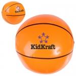 14 Inch Logo Imprinted Basketball Beach Balls
