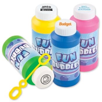 Customized 4 oz Bubbles