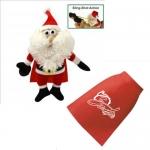 Custom Printed Flying Ho Ho Ho-ing Santa