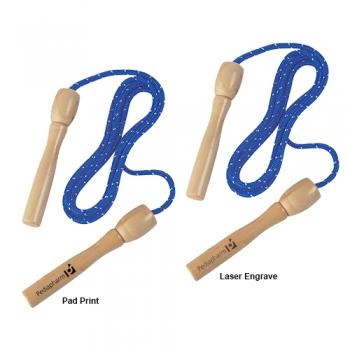 Promotional Logo Woven Nylon Jump Ropes