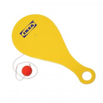 Customized Paddleball - Yellow