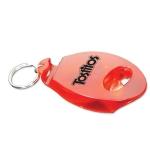Customized Tab Popper & Bottle Opener Keychain - Red