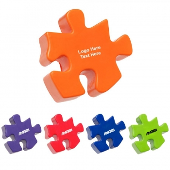 Promotional Logo Polyurethane Puzzle Pieces