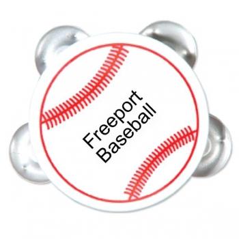 Customized Baseball Tambourines