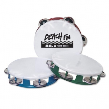 Personalized Jewel Tone Tambourines