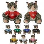 Custom Imprinted Cuddliez Bobcat Plush Toys