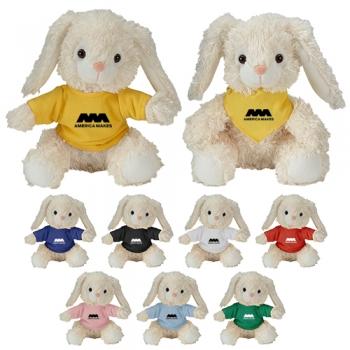 Custom Imprinted Cuddliez Bunny Plush Toys