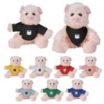 Custom Imprinted Cuddliez Pig Plush Toys
