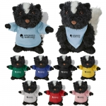 Custom Imprinted Cuddliez Skunk Plush Toys