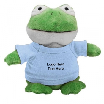 Custom Imprinted Frog Bean Bag Buddies