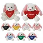 Custom Imprinted Fuzzy Friends Bunny Plush Toys
