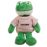 Custom Imprinted Mascot Plush Frog Toys