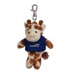 Custom Imprinted Wild Bunch Giraffe with Key Tags