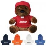 Custom Printed 6 Inch Bucky Beaver Plush Toys with Hoodie
