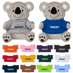 Custom Printed 6 Inch Koko Koalas with Shirt