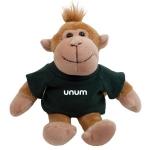 Custom Printed Mascot Plush Monkey Toys
