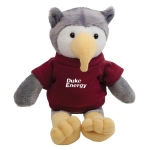 Custom Printed Mascot Plush Owl Toys