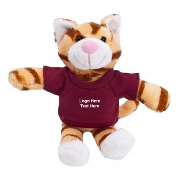 Personalized Mascot Plush Cat Toys