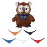 Promotional 6 Inch Hoot Owl Toys with Bandana