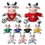 Promotional Fuzzy Friends Cow Soft Plush Toys