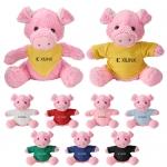 Promotional Fuzzy Friends Pig Plush Toys