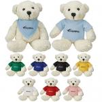 Promotional Logo Cream Color Bear Plush Toys