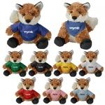 Promotional Logo Cuddliez Fox Plush Toys