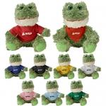 Promotional Logo Cuddliez Frog Plush Toys