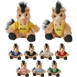Promotional Logo Cuddliez Horse Plush Toys