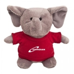 Promotional Logo Elephant Bean Bag Buddies