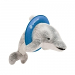 Promotional Logo Plush Dolphin Toys