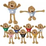 Promotional Logo Pulley Pets Lion Plush Toys