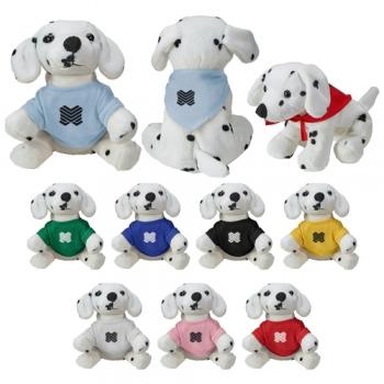 Promotional Zoofari Beanies Dalmatian Plush Toys