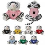 Promotional Zoofari Beanies Tiger Plush Toys