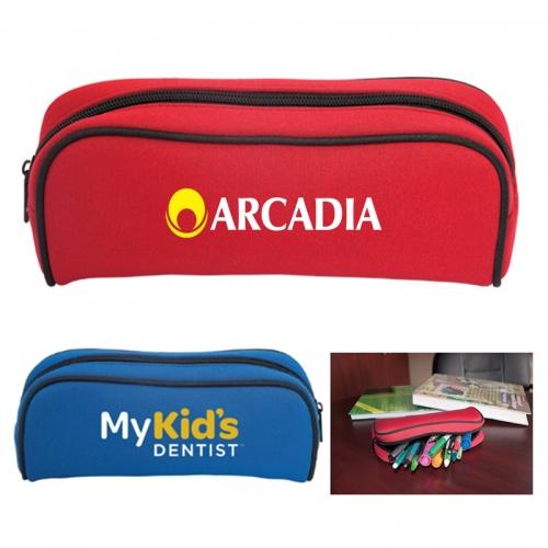 Personalized Neoprene Pencil Cases