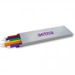 Custom Imprinted 6 Pack Colored Pencils