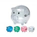 Logo Imprinted Piggy Banks - 5 Colors