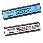 8 Inch Customized Black Edge Rulers / Calculators