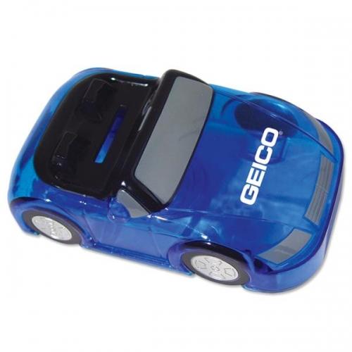 Customized Blue Car Bank