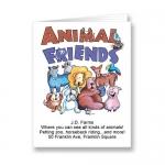 Custom Animal Friends Coloring Book