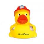 Custom Fireman Duck Shape Stress Relievers