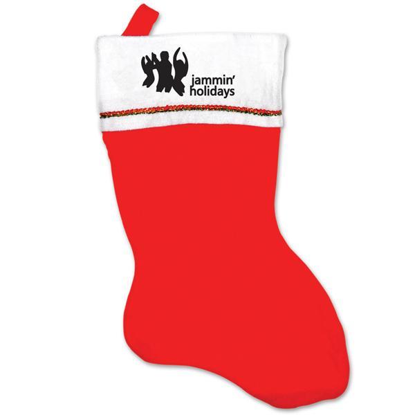 Promotional Logo Felt Stockings